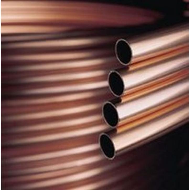 Buderus Kupferrohr weich in Ringen 25m oder 50m Durchmesser 6 8 10 12 15 18 22