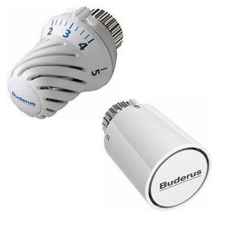 Buderus Logafix Thermostatkopf wählbar für Kompakt oder Ventil Heizkörper