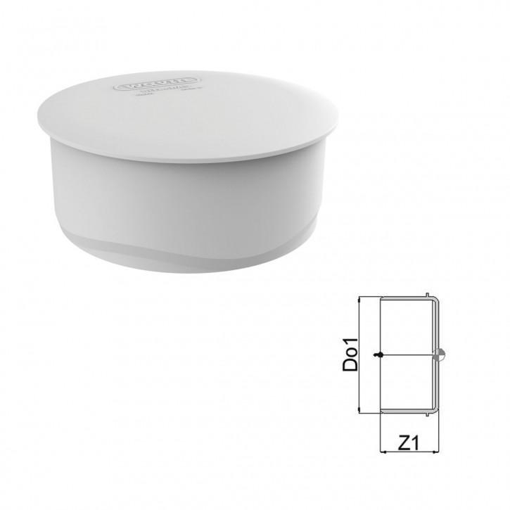 Wavin AS+ / Wavin AS Plus Muffenstopfen mit Premium Schallschutz Abflussrohr