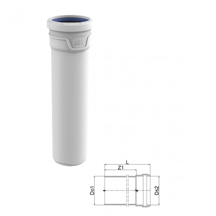 Wavin AS+ / Wavin AS Plus Abflussrohre mit Premium Schallschutz Rohr mit Muffe