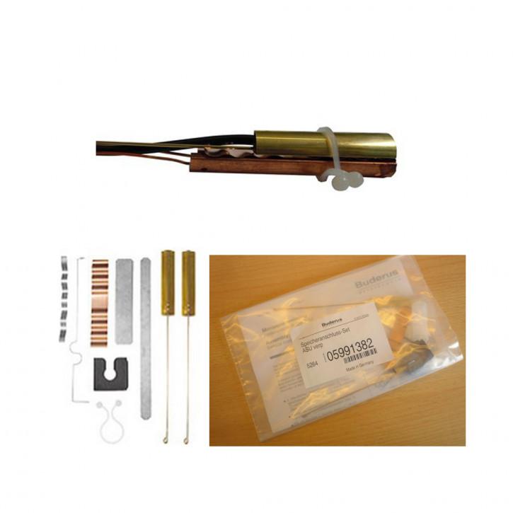 Speicheranschluss-Set ASU Spannfeder für Buderus Fühler Speicherfühler 6mm