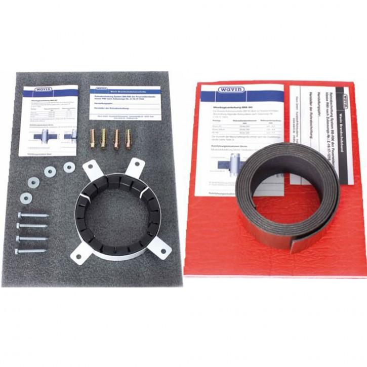 Brandschutzmanschette BM-R90 / K1 Brandschutzband BB-R90 für Wavin SiTech