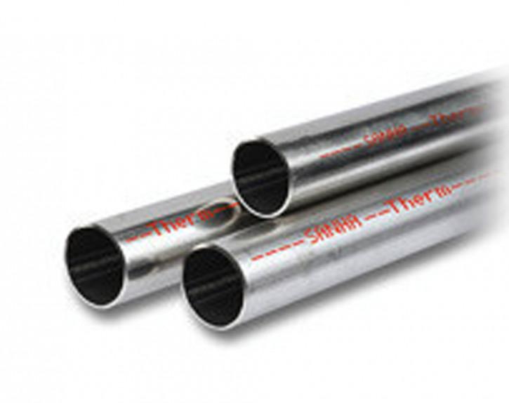 C-Stahlrohr Buderus SANHA-Therm in 6m Stangen C- Stahl Rohr Durchmesser wählbar