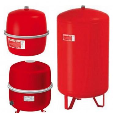 Flamco Flexcon Top Membran Druck Ausdehnungsgefäß Heizung 2 bis 600 Liter rot