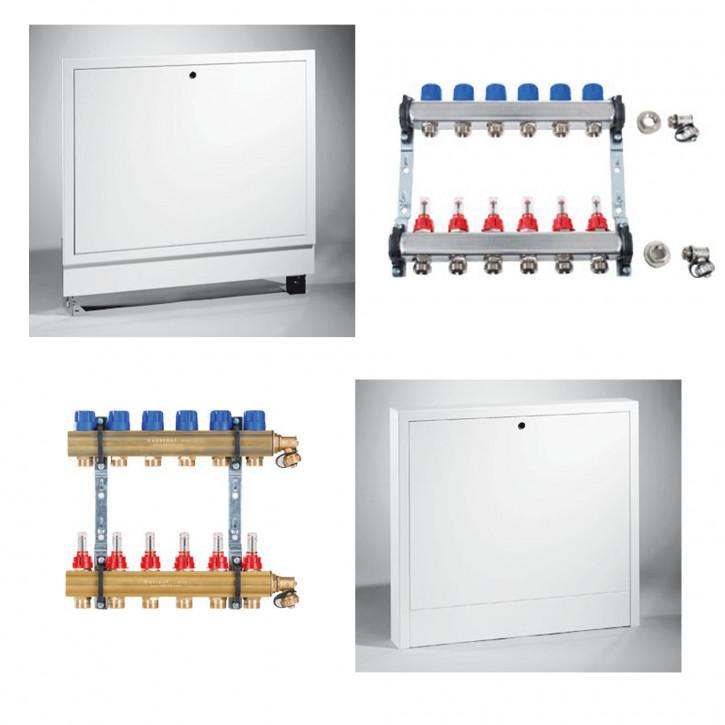 EMPUR Heizkreisverteiler HKV-D Durchflussmengenmesser / Verteilerschrank wählen
