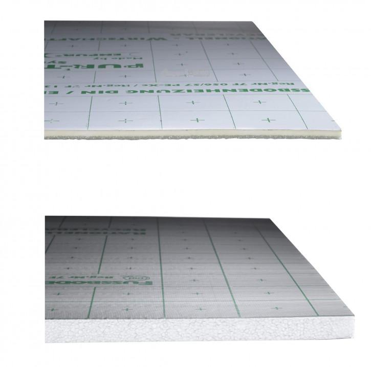 Empur Verbundplatte Exclusiv PUR-PE 14 23 33 Fußbodenheizung 10m² 20m² Buderus