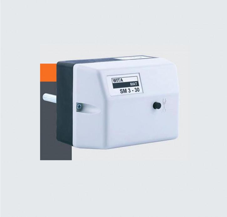 Wita Stellmotor SM3 Mischermotor mit Klauenmitnehmer Heiztechnik Klimatechnik