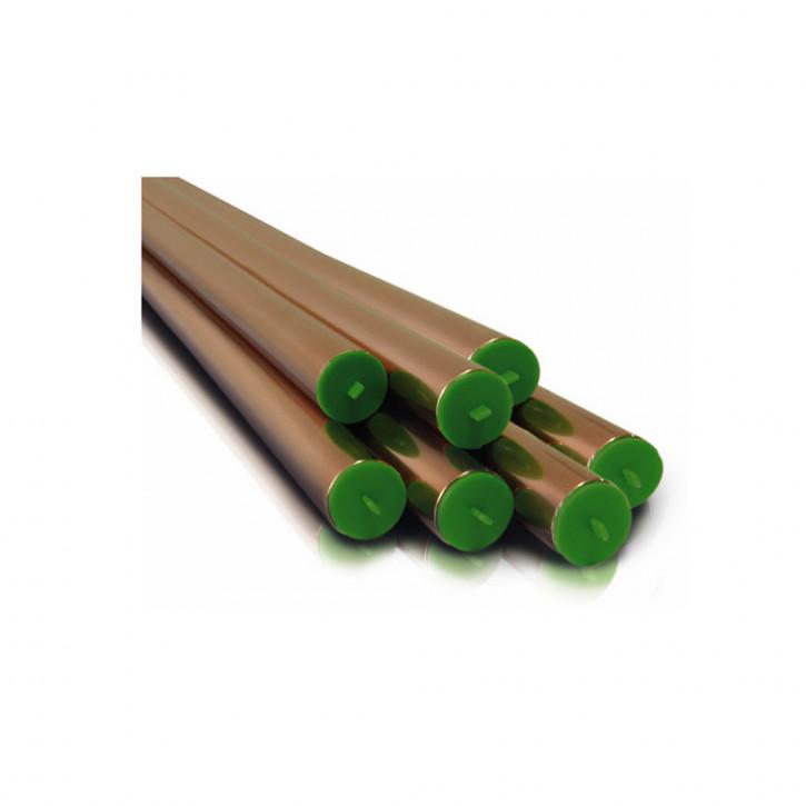 50m Set Sanco ® Kupferrohr in 10x 5m Stangen 15x1,0 18x1,0 22x1,0 28x1,0 mm