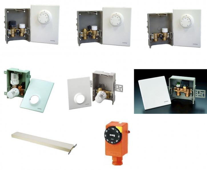 Buderus Oventrop Unibox Einzelraumregelung für Fußbodenheizung oder AT90 wählbar