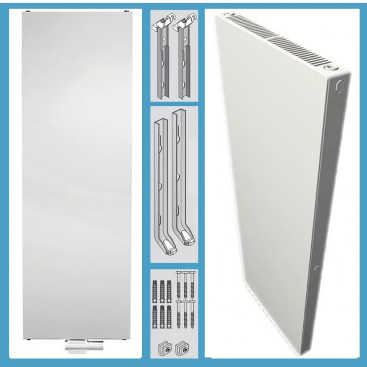 Buderus Vertikal Plan Heizkörper Bauhöhe 1400 mm Typ 10 20 21 22  Länge 300-900
