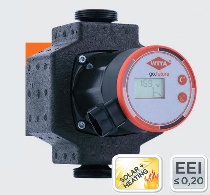 Wita Hocheffizienzpumpe go future LCD Heizungspumpe Solarpumpe 4-6m 110 130 180
