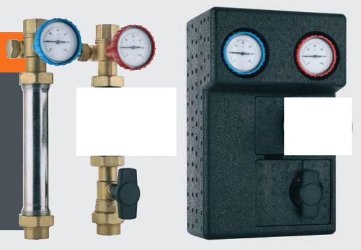 Wita Kombigruppe WMB/R für Einbau Pumpe Achsabstand 120 mm oder 125 mm