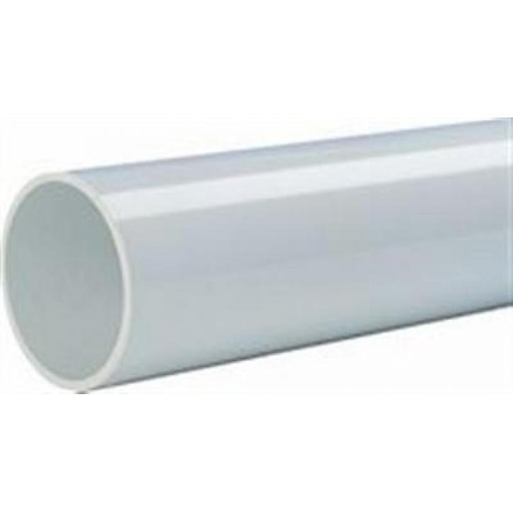 Wavin AS-GL Abflussrohr ohne Muffe Abwasser Schallschutz Rohr glatt GRAU